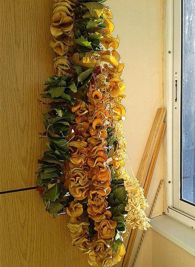 Сухофрукты на даче — это просто - пошаговый рецепт приготовления с фото