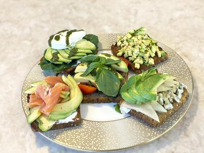 Авокадо Тост. Топ-5 лучших рецептов тостов с авокадо - пошаговый рецепт приготовления с фото