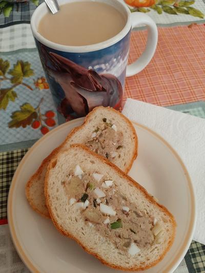 Необычные бутерброды на перекус - пошаговый рецепт приготовления с фото