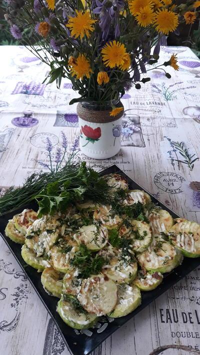 Жареные кабачки с сыром и зеленью. Рецепт приготовления с фото