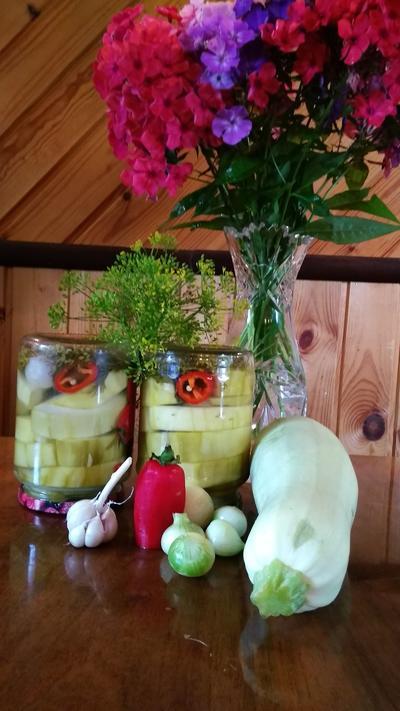 Маринованные кабачки на зиму - пошаговый рецепт приготовления с фото