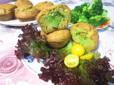 Полезные маффины с брокколи - пошаговый рецепт приготовления с фото