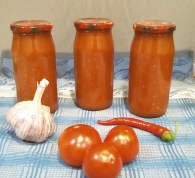 Домашний кетчуп из помидоров с яблоками. Пошаговый рецепт с фото