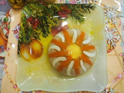 Холодец из кролика; Мясной; пошаговый рецепт приготовления с фото