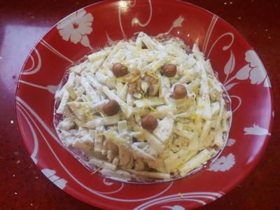 Сельдереевый салат витаминами богат - пошаговый рецепт приготовления с фото