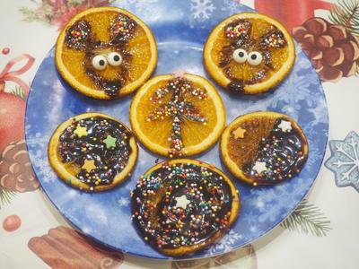 Карамелизированные апельсины; Мышки. Пошаговый рецепт с фото