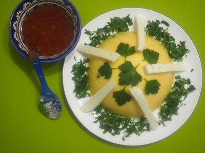 Мамалыга. Пошаговый рецепт с фото
