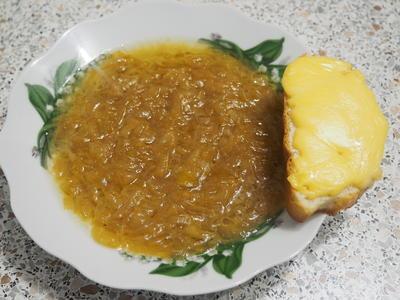 Луковый французский суп - пошаговый рецепт приготовления с фото
