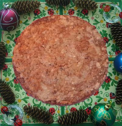 Пирог насыпной с яблоками. Пошаговый рецепт с фото