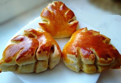 Булочки сдобные сладкие пышные рецепт с яблоком и корицей из дрожжевого теста