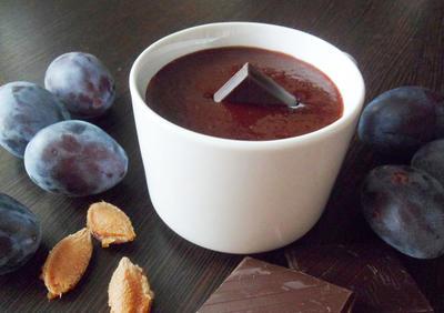 Джем из сливы с горьким шоколадом - пошаговый рецепт приготовления с фото