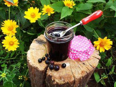 Черничный джем с черной смородиной - пошаговый рецепт приготовления с фото