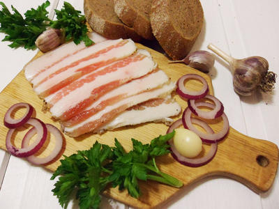 Соленое сало в тузлуке - вкусное, как у дедушки - пошаговый рецепт приготовления с фото