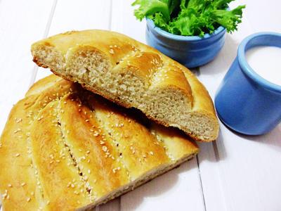 Матнакаш - домашний армянский хлеб - пошаговый рецепт приготовления с фото