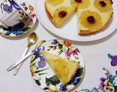 Творожная запеканка с консервированным ананасом - пошаговый рецепт приготовления с фото