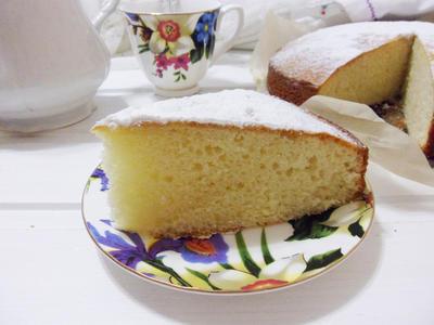 Итальянский домашний бисквит; 12 ложек; пошаговый рецепт приготовления с фото