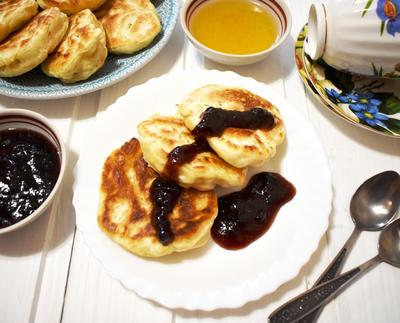 Постные оладьи на завтрак. Пошаговый рецепт с фото