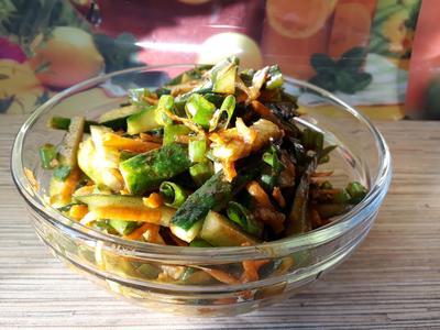 Салат «Кураж под соусом» - пошаговый рецепт приготовления с фото
