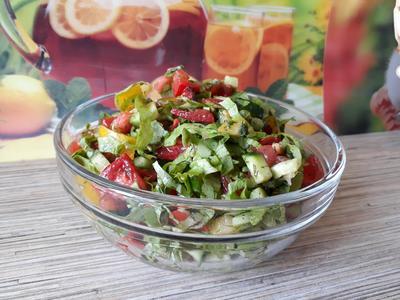 Салат «от Кураж» - пошаговый рецепт приготовления с фото