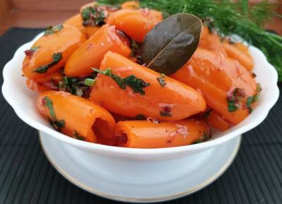 Быстрый маринованный перец - пошаговый рецепт приготовления с фото