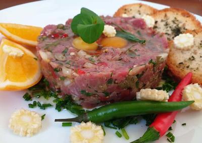 Тартар из говядины - пошаговый рецепт приготовления с фото