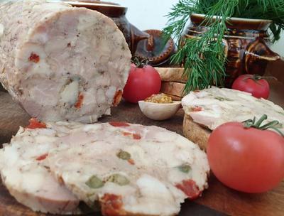 Домашняя ветчина в духовке - пошаговый рецепт приготовления с фото