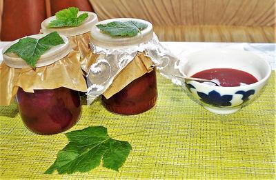 Сырой джем из красной смородины с мёдом. Пошаговый рецепт с фото