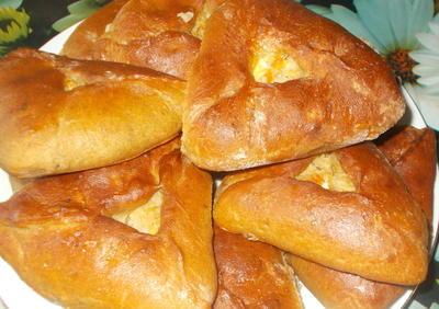 Пироги с капустой и яйцами из муки грубого помола - пошаговый рецепт приготовления с фото