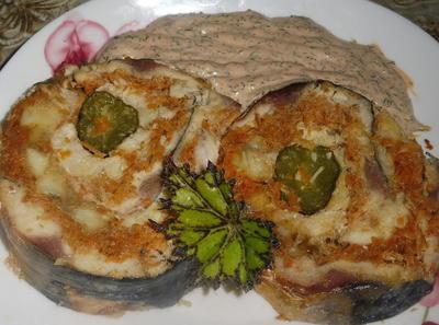 Рыбный рулет с овощами - пошаговый рецепт приготовления с фото
