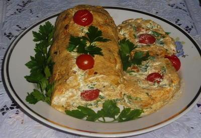 Овощной рулет - пошаговый рецепт приготовления с фото