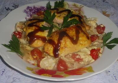 Запеченная рыба и соус; Терияки; пошаговый рецепт приготовления с фото