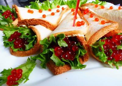 Свежий салат и икра - закуска на ура - пошаговый рецепт приготовления с фото