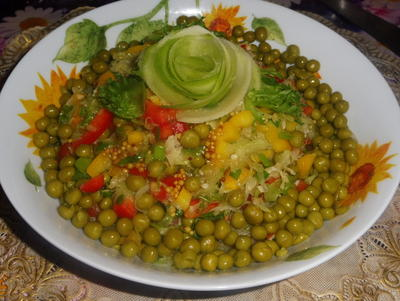 Салат с зеленой редькой - пошаговый рецепт приготовления с фото