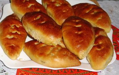 Пироги с картошкой, грибами и беконом в духовке. Пошаговый рецепт с фото