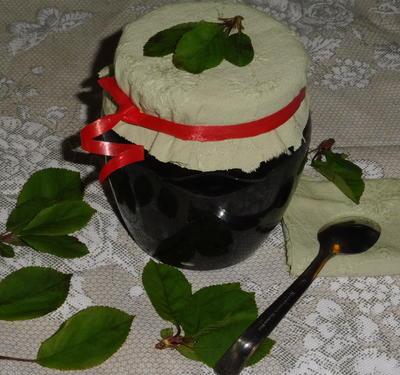 Варенье из крапивы с вишневым сиропом, приготовленное в духовке - пошаговый рецепт приготовления с фото