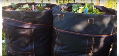 Самодельные мешки с клапаном