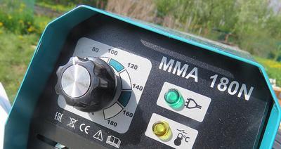Аппарат бюджетный, дисплея, который показывает установленный ток, нет. Фото автора