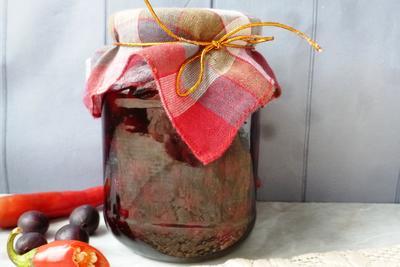 Вишневое варенье с чили - пошаговый рецепт приготовления с фото