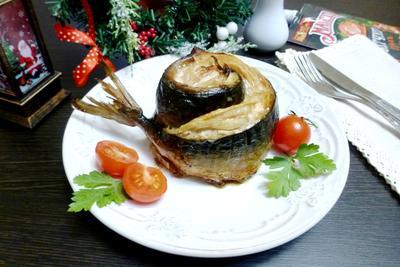 Рулет из скумбрии с беконом - пошаговый рецепт приготовления с фото