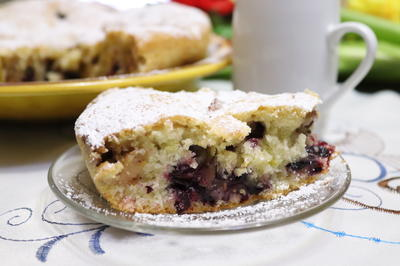 Постный яблочный пирог - пошаговый рецепт приготовления с фото