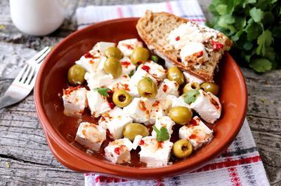 Маринованная брынза (рассольный сыр) - пошаговый рецепт приготовления с фото