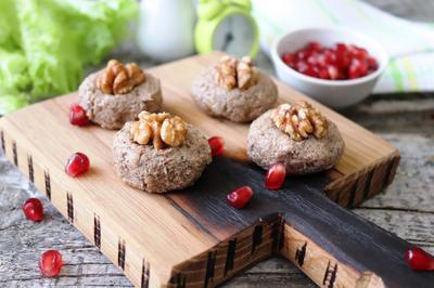 Пхали из шампиньонов, или Грибной паштет с орехами - пошаговый рецепт приготовления с фото