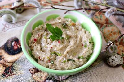 Паштет из баклажанов и яиц - пошаговый рецепт приготовления с фото