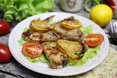 Запеченные лимонные крылышки - пошаговый рецепт приготовления с фото