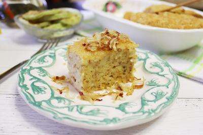 Крупеник из пшеничной крупы с горохом и картофелем - пошаговый рецепт приготовления с фото