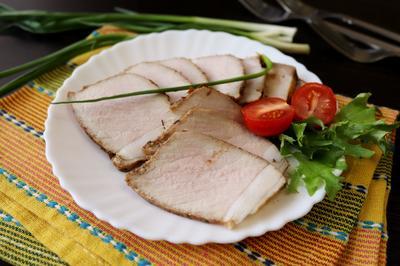 Запеченная свинина; Шиворот-навыворот; пошаговый рецепт приготовления с фото