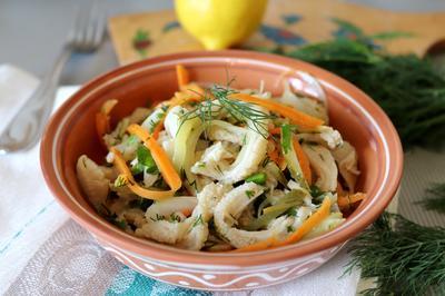 Острый салат из рубца - пошаговый рецепт приготовления с фото