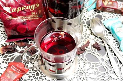 Каркаде - напиток из лепестков суданской розы для хорошего самочувствия