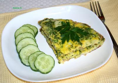 Омлет с кабачками - пошаговый рецепт приготовления с фото