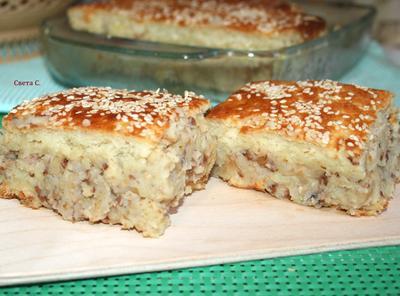 Постный пирог с картофелем и гречкой - пошаговый рецепт приготовления с фото
